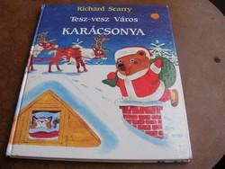 Richard Scarry Tesz-vesz Város Karácsonya