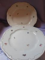 Zsolnay tollazott lapos tányérok