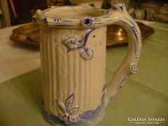 Porcelán kék díszítésű kancsóka