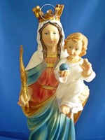 Szűz Mária / Madonna szobor gyermekkel 40 cm magas