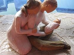 Susan Lordi  szobor Az új élet csodája
