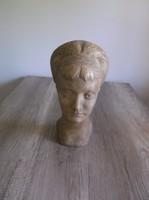 Kóthai Nándor Női fej 1965 Igen ritka mester munkája egyike.