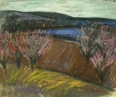 Lóránt János Demeter : Virágzó fák