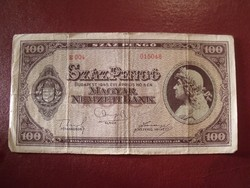 Száz pengő 1945