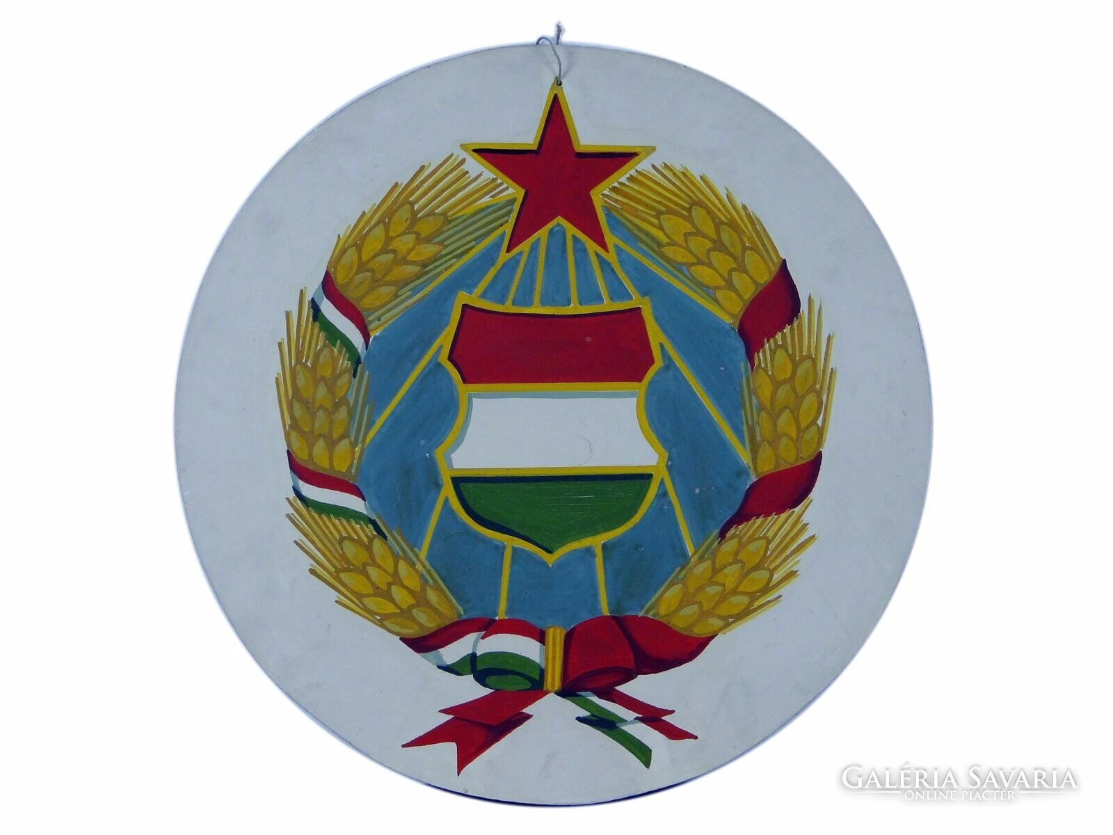8f04301cde 0E294 Magyar címer Kádár címer tábla - Gyűjtemény .